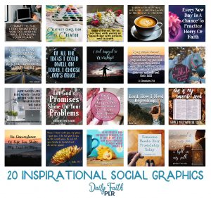 Inspirational PLR Social Graphics: Set #1