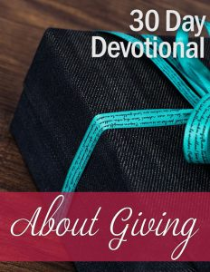 Devotional: About Giving